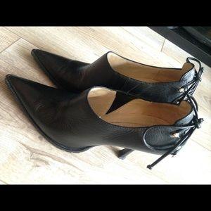 ... heels Genuine leather black Michael Kors booties ... 4e1b7e4c228